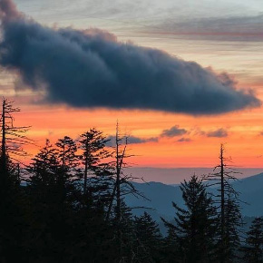 Sunrise at Clingmans Dome - Photo by Ed Heaton