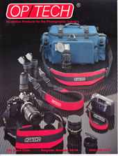 OP/TECH USA 1988 Catalog Cover