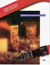 OP/TECH USA 1989 Catalog Cover