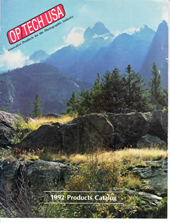 OP/TECH USA 1992 Catalog Cover