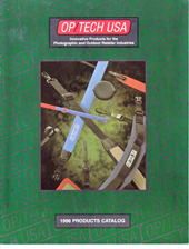 OP/TECH USA 1996 Catalog Cover