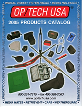OP/TECH USA 2005 Catalog Cover