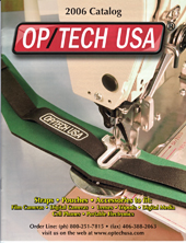 OP/TECH USA 2006 Catalog Cover