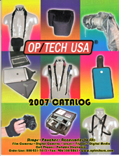 OP/TECH USA 2007 Catalog Cover
