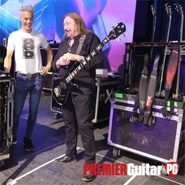Judas Priests' Ian Hill uses customized Neotech Mega Straps