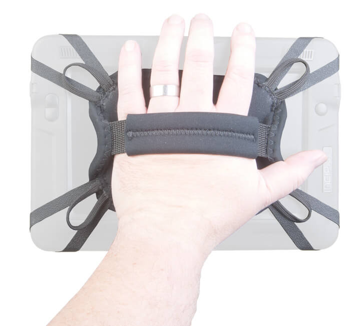 the Kindle Fire Hand Strap keeps a Kindle cradled in your palm