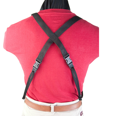 Tablet Double Harness back view